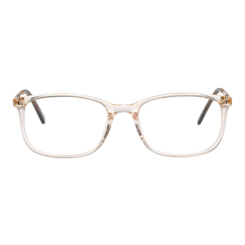 Oroton Female Octavia Beige Modern Rectangle Optical Frames