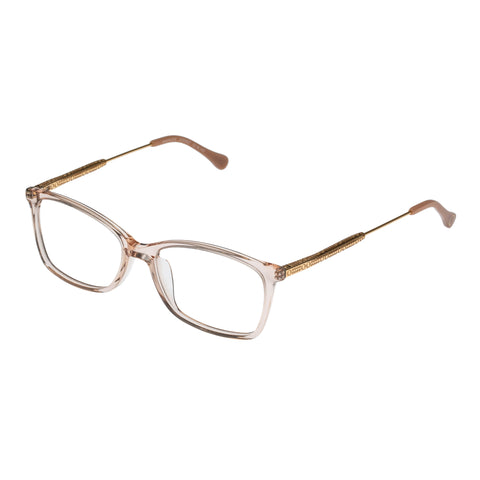 Oroton Female Navigate Rose Modern Rectangle Optical Frames