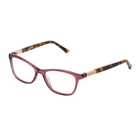 Oroton Female Lois Rose Modern Rectangle Optical Frames