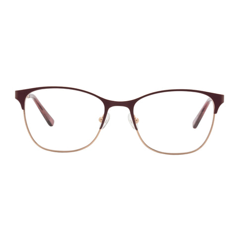 Oroton Female Maribel Rose Modern Rectangle Optical Frames