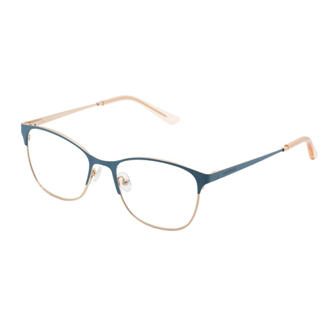 Oroton Female Maribel Blue Modern Rectangle Optical Frames
