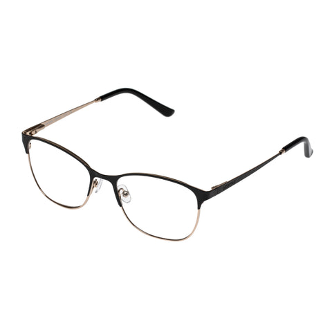 Oroton Female Maribel Black Modern Rectangle Optical Frames