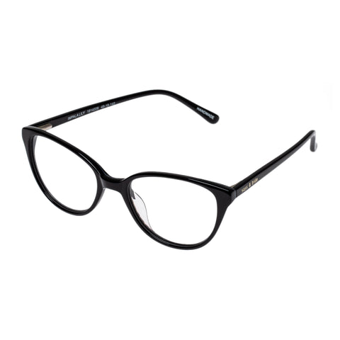 Sass And Bide Female Impala Lily Black Cat-eye Optical Frames