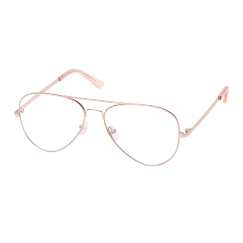 Sass And Bide Female Alpinia Gold Aviator Optical Frames
