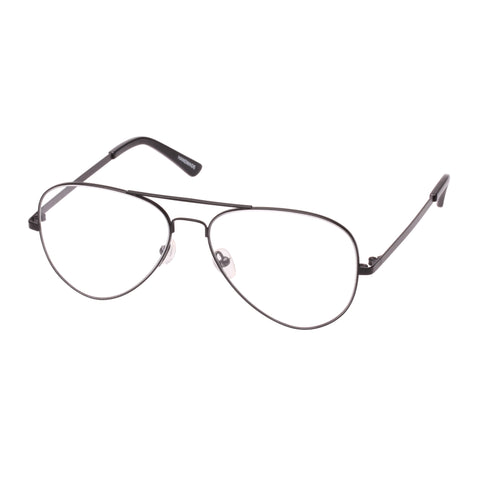 Sass And Bide Female Alpinia Black Aviator Optical Frames