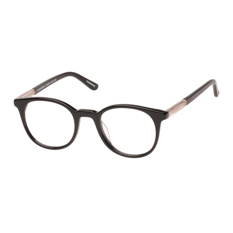 Sass And Bide Female Ajiva Bookin Black Round Optical Frames