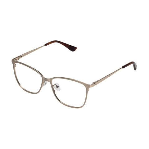 Sass And Bide Female Angelic Charade Gold Modern Rectangle Optical Frames
