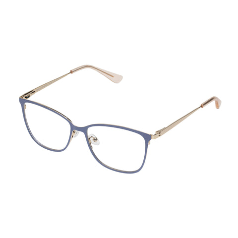 Sass And Bide Female Angelic Charade Blue Modern Rectangle Optical Frames