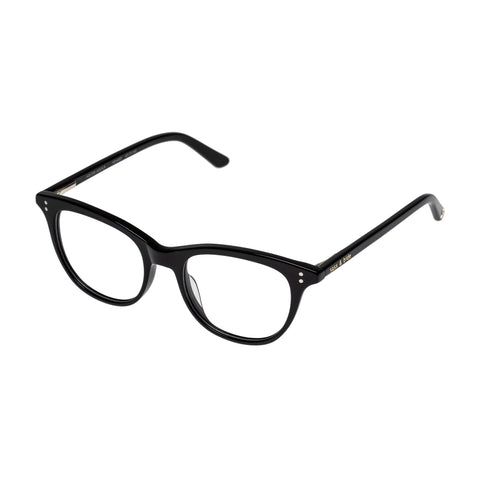Sass And Bide Female Aglow Aquila Black Cat-eye Optical Frames