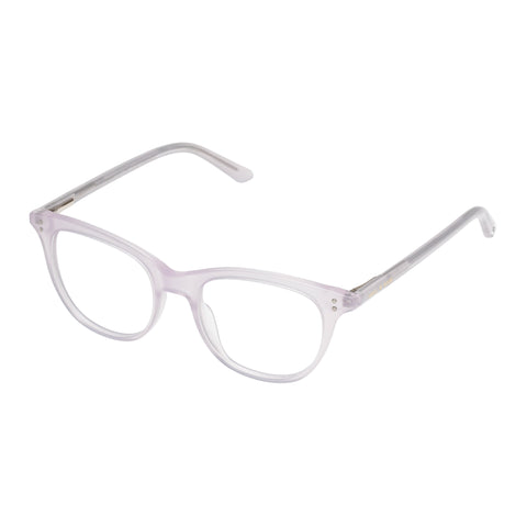 Sass And Bide Female Aglow Aquila Grey Cat-eye Optical Frames