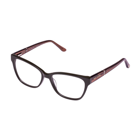 Sass And Bide Female Sensation Khaki Cat-eye Optical Frames