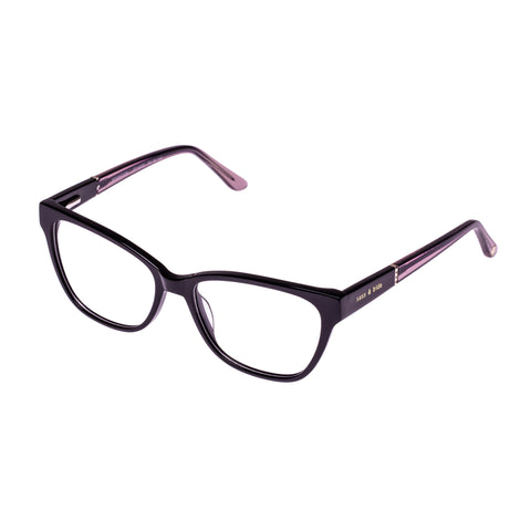 Sass And Bide Female Sensation Black Cat-eye Optical Frames