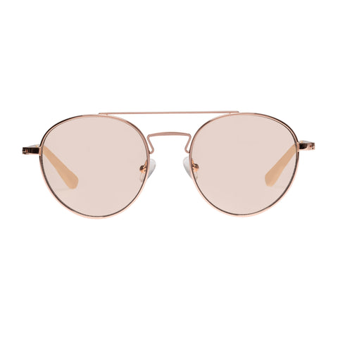Sass And Bide Female La Casa Rose Round Sunglasses