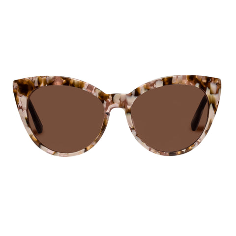 Sass And Bide Female Gemini Glow Tort Cat-eye Sunglasses