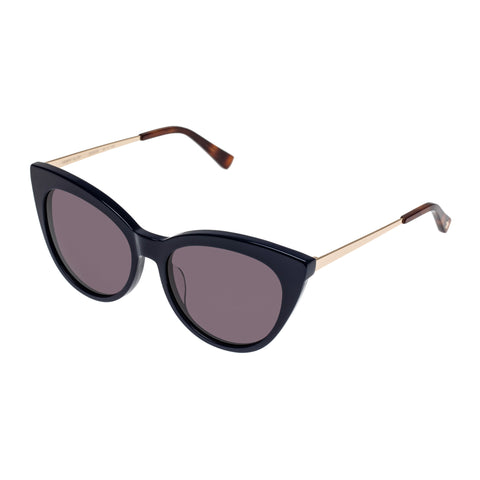 Sass And Bide Female Gemini Glow Navy Cat-eye Sunglasses