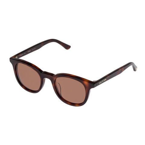 Sass And Bide Female Lambent Leo Tort Modern Rectangle Sunglasses