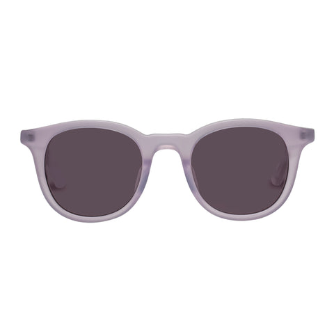 Sass And Bide Female Lambent Leo Grey Modern Rectangle Sunglasses