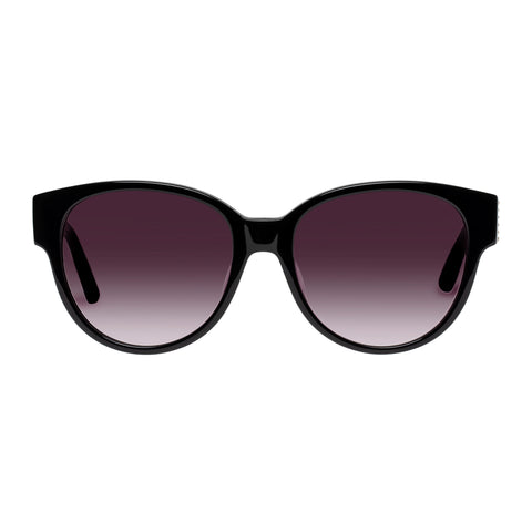 Sass And Bide Female Dreamy Disguise Black Modern Rectangle Sunglasses