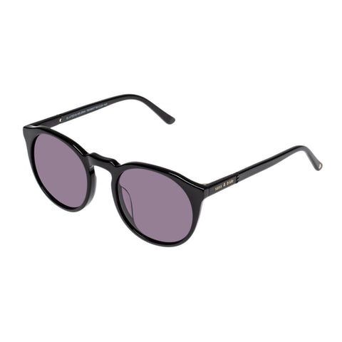 Sass And Bide Female Elated & Helena Black Round Sunglasses
