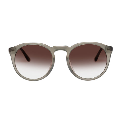 Sass And Bide Female Elated & Helena Khaki Round Sunglasses