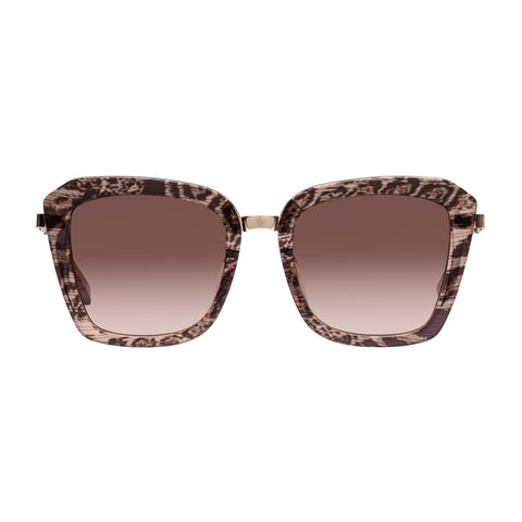 Sass And Bide Female Electric Nomad Pattern Square Sunglasses