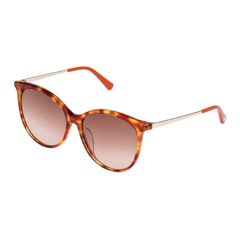 Sass And Bide Female Master Mystique Tort Round Sunglasses