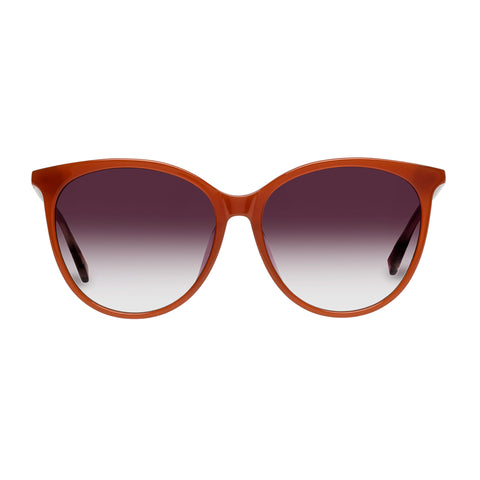 Sass And Bide Female Master Mystique Brown Round Sunglasses