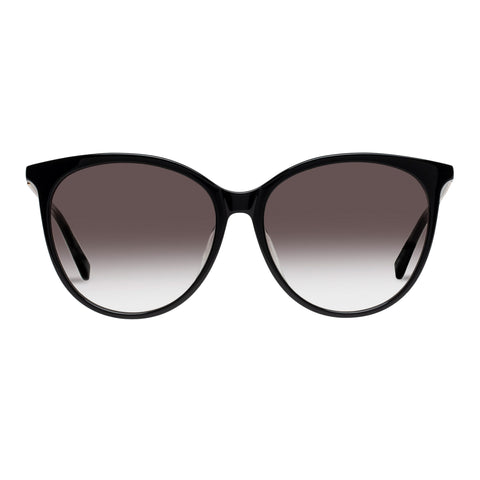 Sass And Bide Female Master Mystique Black Round Sunglasses