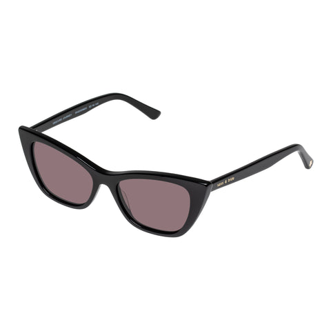 Sass And Bide Female Obscure Journey Black Cat-eye Sunglasses