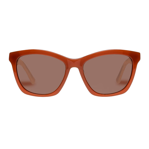 Sass And Bide Female Sweet Sabatical Brown Modern Rectangle Sunglasses