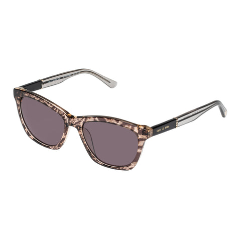 Sass And Bide Female Sweet Sabatical Pattern Modern Rectangle Sunglasses