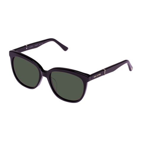 Sass And Bide Female Cosmos Black Square Sunglasses