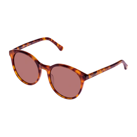 Sass And Bide Female Supernature Tort Round Sunglasses