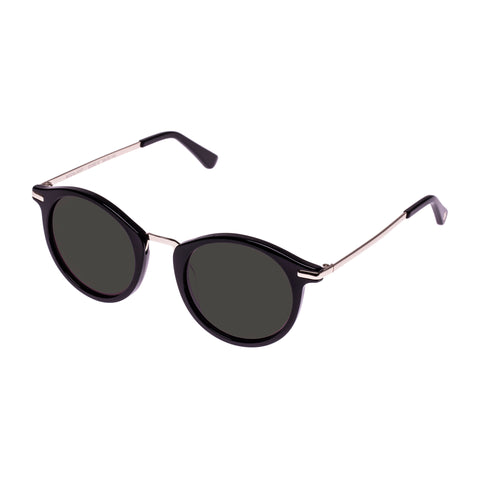 Sass And Bide Female Moonlight Black Round Sunglasses