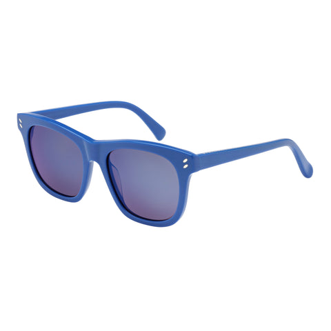 Stella Mccartney Female Sc0001s004 Blue (26)-3 Blue Wrap Fashion Sunglasses