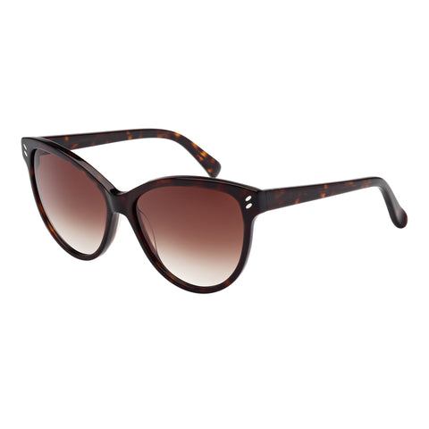 Stella Mccartney Female Sc0002s004 Avana (26)-3 Tort Wrap Fashion Sunglasses