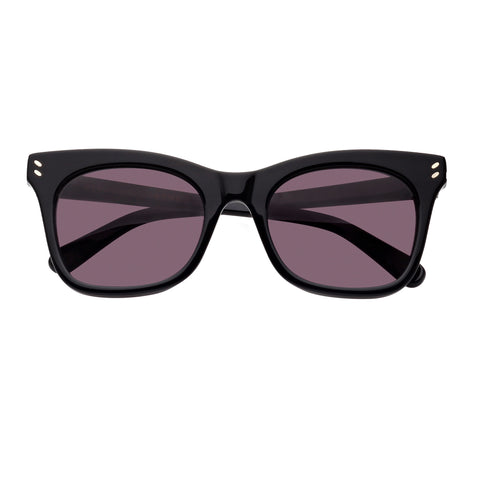 Stella Mccartney Female Sc0025s001 Black (26)-3 Black Wrap Fashion Sunglasses