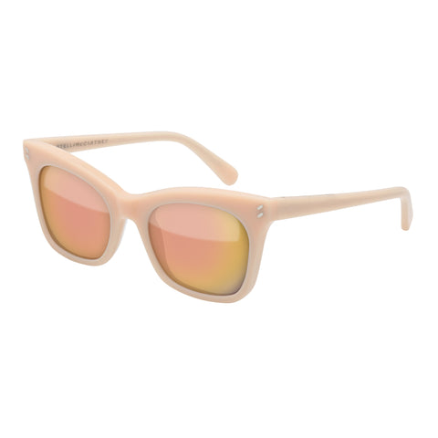 Stella Mccartney Female Sc0025s003 Orange (26)-3 Orange Wrap Fashion Sunglasses