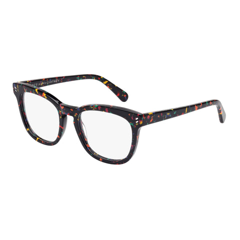 Stella Mccartney Female Sc0027o001 Black (26) Black Wrap Fashion Optical Frames