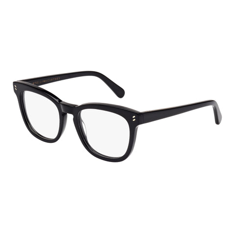Stella Mccartney Female Sc0027o002 Black (26) Black Wrap Fashion Optical Frames