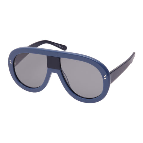 Stella Mccartney Female Sc0032s004 Lightblue (26)-3 Blue Wrap Fashion Sunglasses