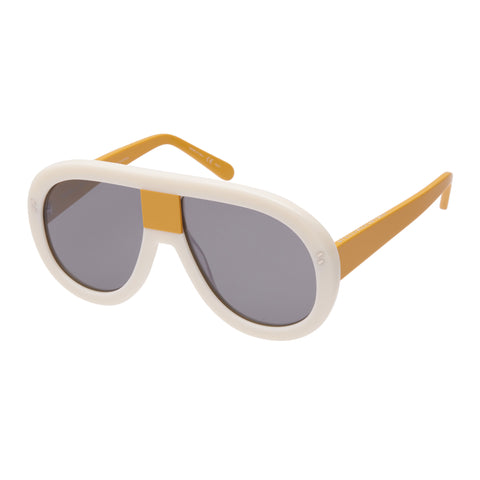 Stella Mccartney Female Sc0032s005 Beige (26)-3 Beige Wrap Fashion Sunglasses