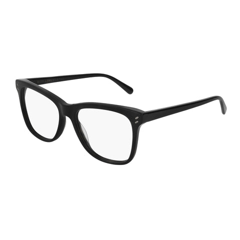 Stella Mccartney Female Sc0088o001 Black (70) Black Wrap Fashion Optical Frames