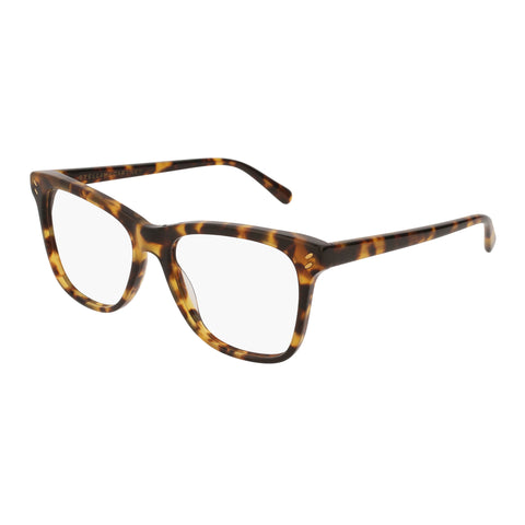 Stella Mccartney Female Sc0088o004 Avana (70) Tort Wrap Fashion Optical Frames