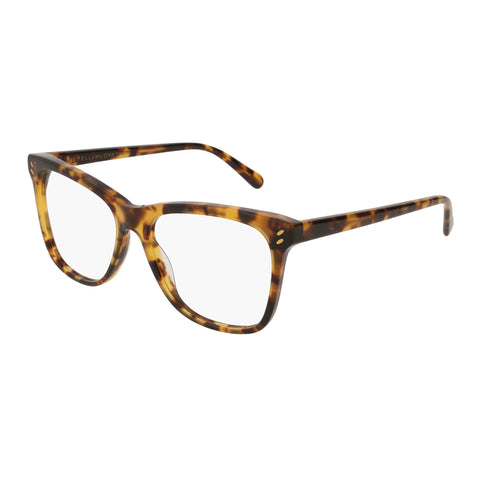 Stella Mccartney Female Sc0088o009 Avana (70) Tort Wrap Fashion Optical Frames