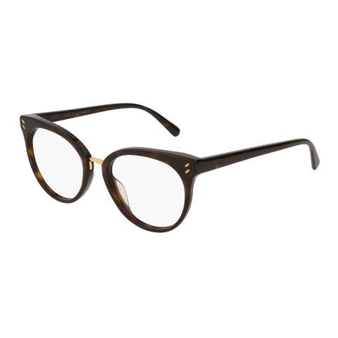 Stella Mccartney Female Sc0090o002 Avana (70) Tort Wrap Fashion Optical Frames
