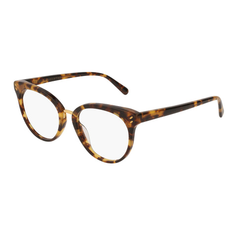 Stella Mccartney Female Sc0090o004 Avana (70) Tort Wrap Fashion Optical Frames