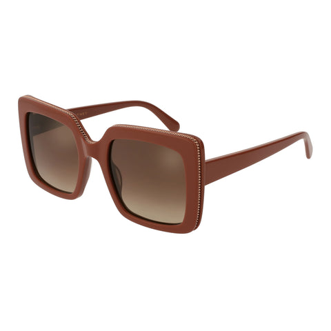 Stella Mccartney Female Sc0093s005 Red (26)-3 Red Wrap Fashion Sunglasses