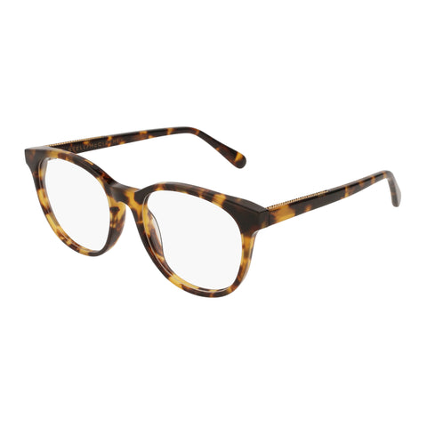 Stella Mccartney Female Sc0094o004 Avana (70) Tort Wrap Fashion Optical Frames