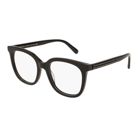 Stella Mccartney Female Sc0099o001 Black (70) Black Wrap Fashion Optical Frames